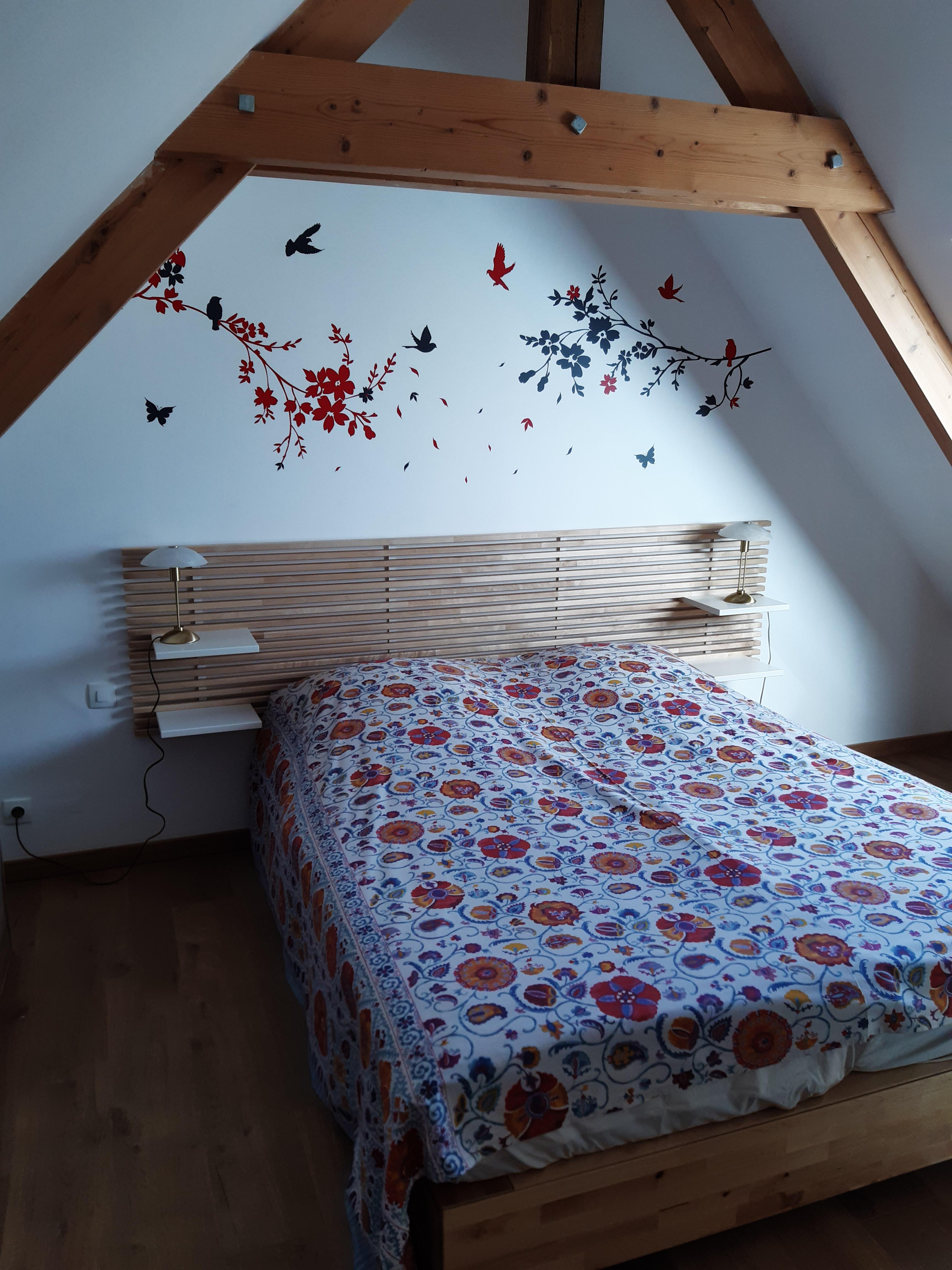 Chambre Sous les Pommiers - Le Moulin du Locheur - Chambre