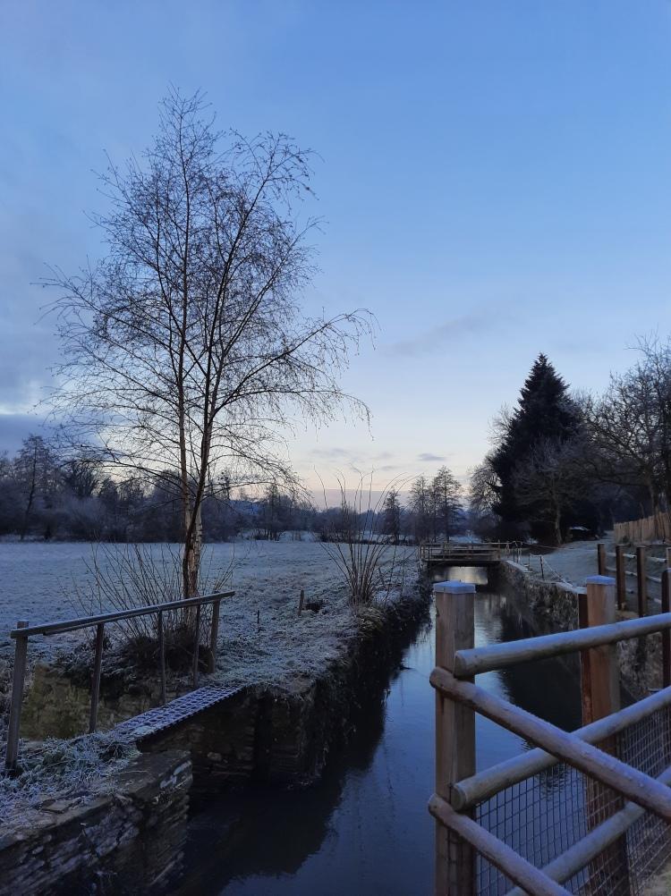 2021 Chambre d'hôte Moulin du Locheur Morgennebel
