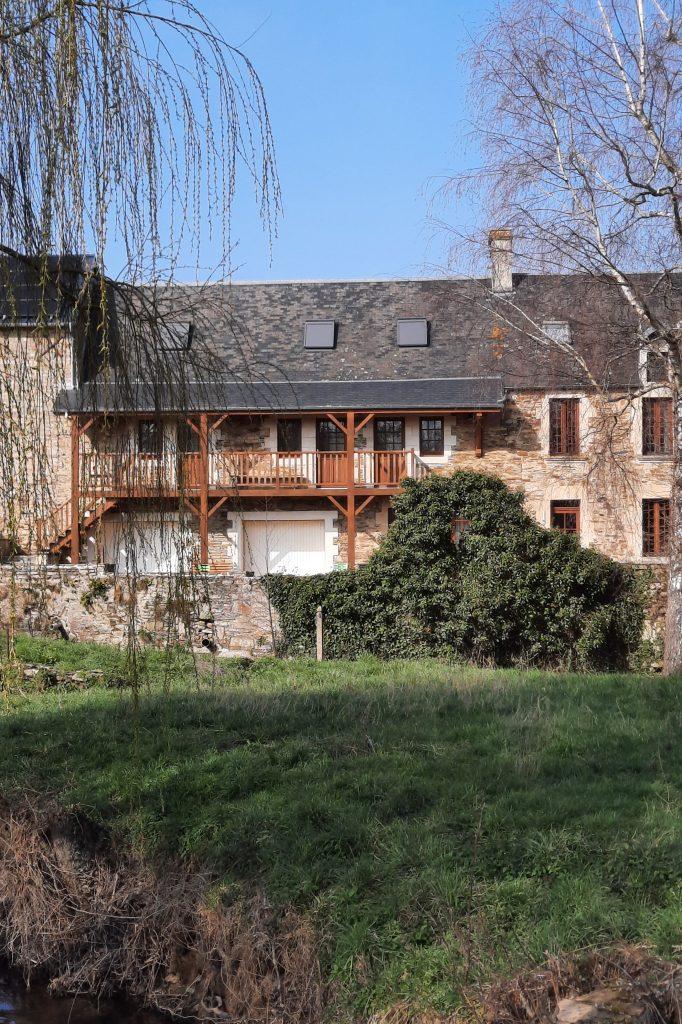 Chambre d'hôte Moulin du Locheur vue