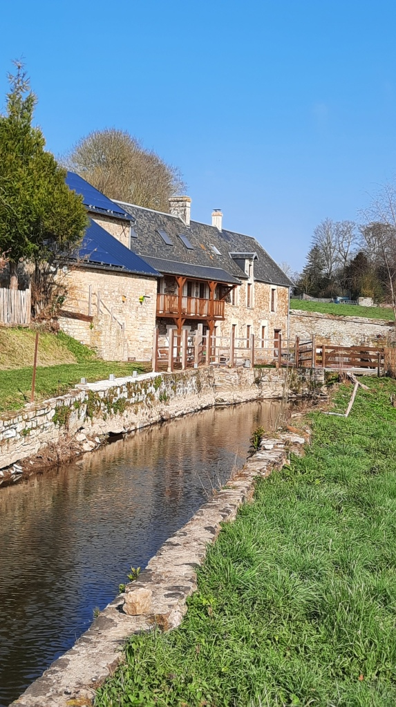 2021 Chambre d'hôte Moulin du Locheur vue