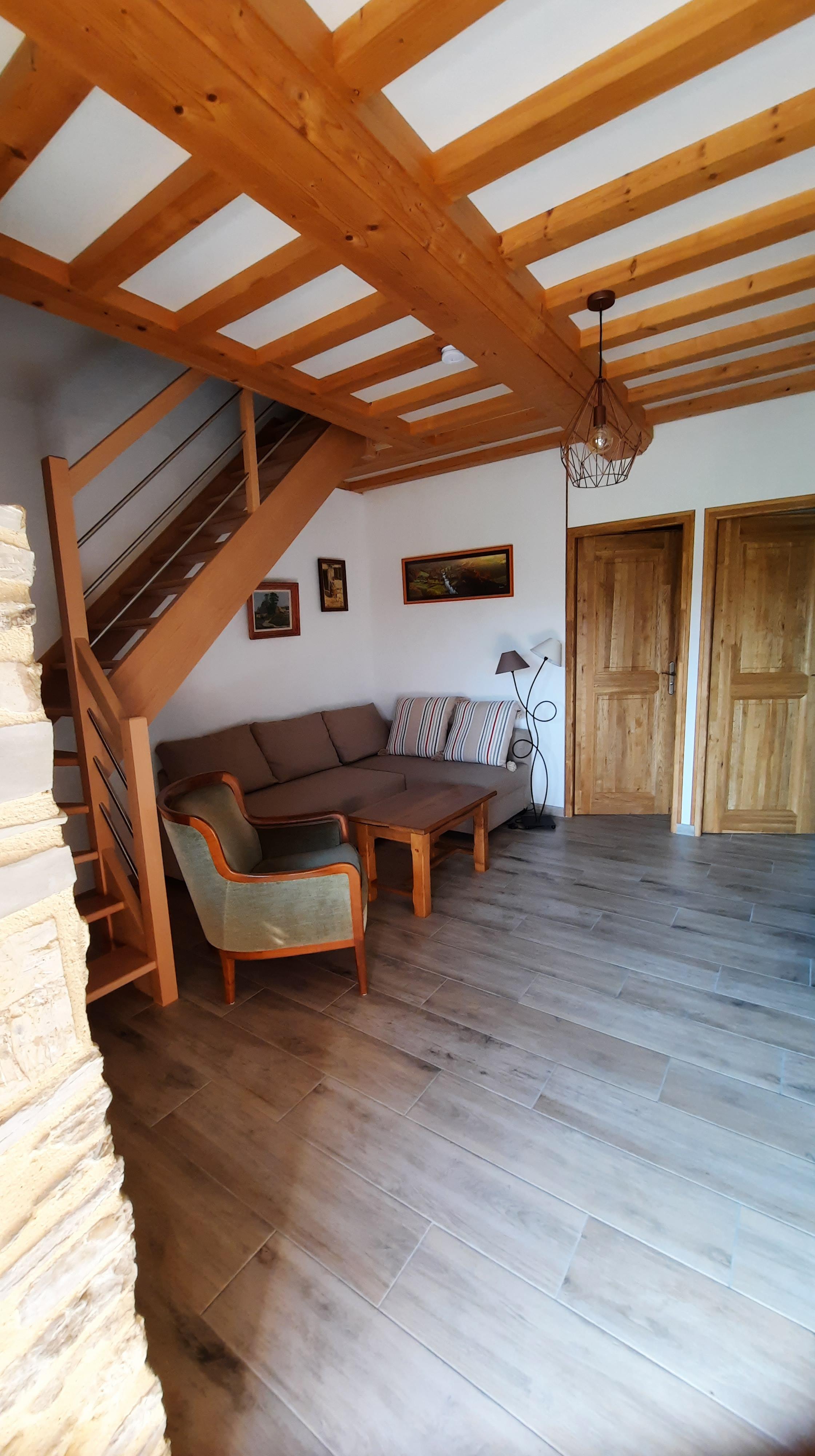 Chambre dans le bocage - le moulin du locheur - espace détente